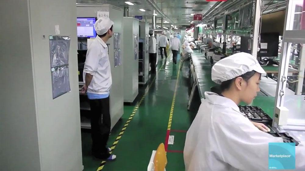 Ipad Factory Foxconn Shenzhen Obama Pacman