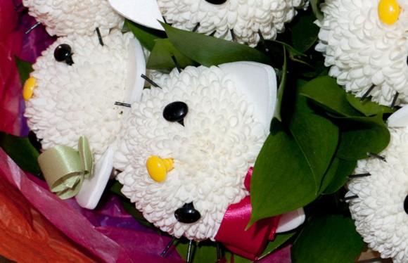 Hello Kitty flowers Tokyo
