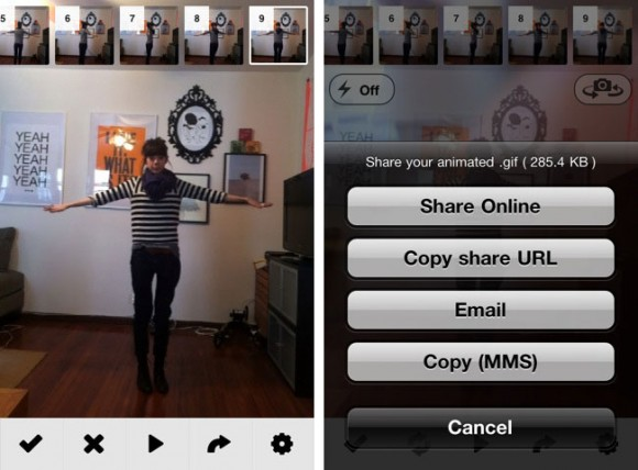 Make Animated GIF iPhone GIF SHOP