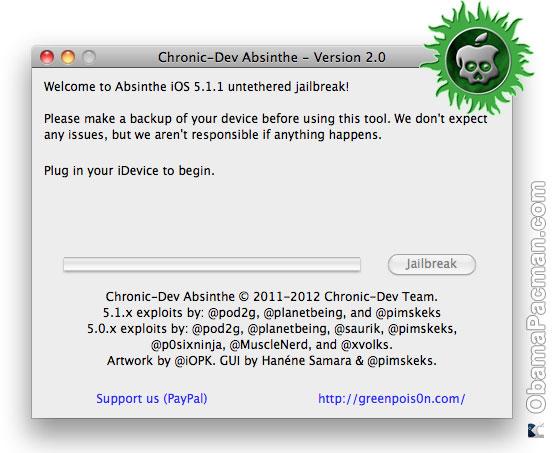 iOS 5-1-1 Jailbreak Absinthe 2 Greenpois0n