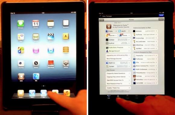 iPad 3 jailbreak pod2g
