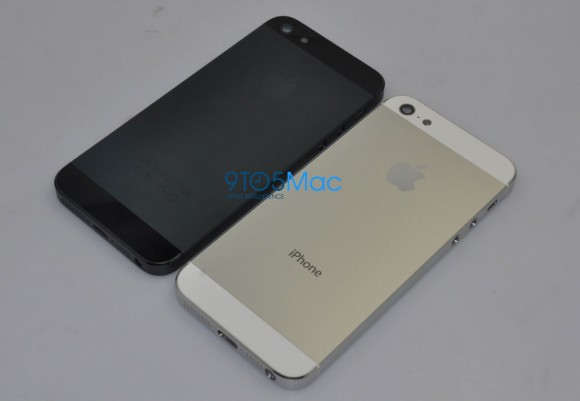 iPhone 5 back panel leaked