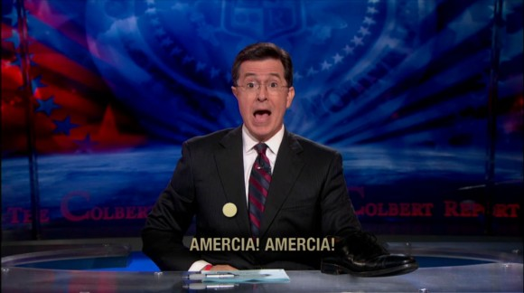 Colbert National Anthem of Amercia