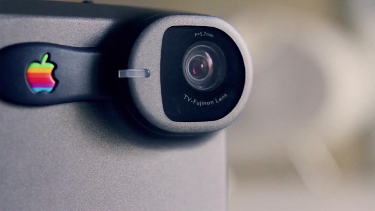 Lens Apple QuickTake 200 digital camera 1996 | Obama Pacman