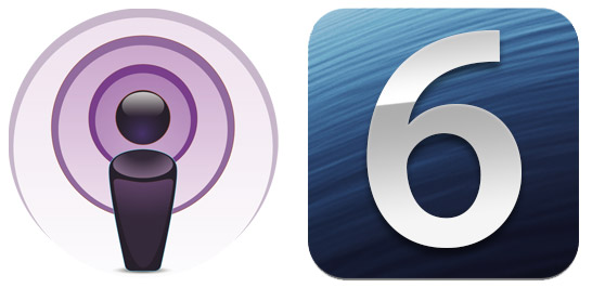 Podcast iOS 6