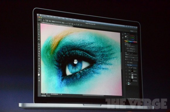 Retina display Apple 2012 MacBook Pro