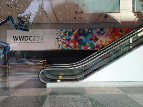 WWDC 2012 Apple Banner Moscone