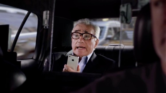 Martin Scorsese iPhone Siri