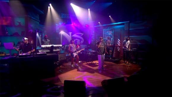 Nas Colbert Report 2012 Juy 17