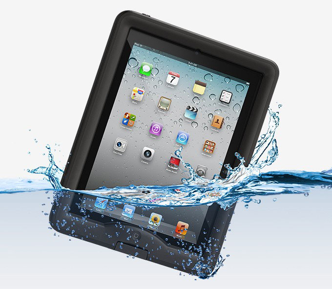 rugged waterproof ipad nüüd case from lifeproof now available