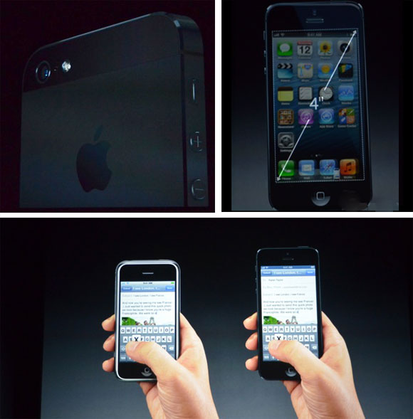 iPhone 5 4-Inch display