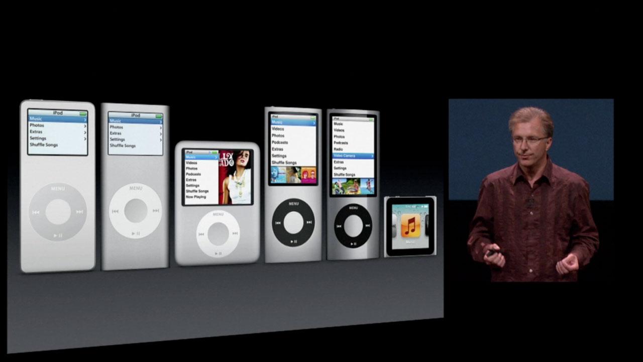 Ipod Nano Evolution 2005 2011 Obama Pacman