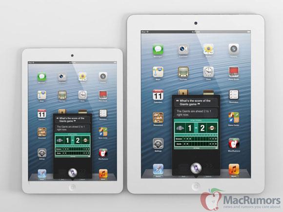 2012 iPad mini mockup
