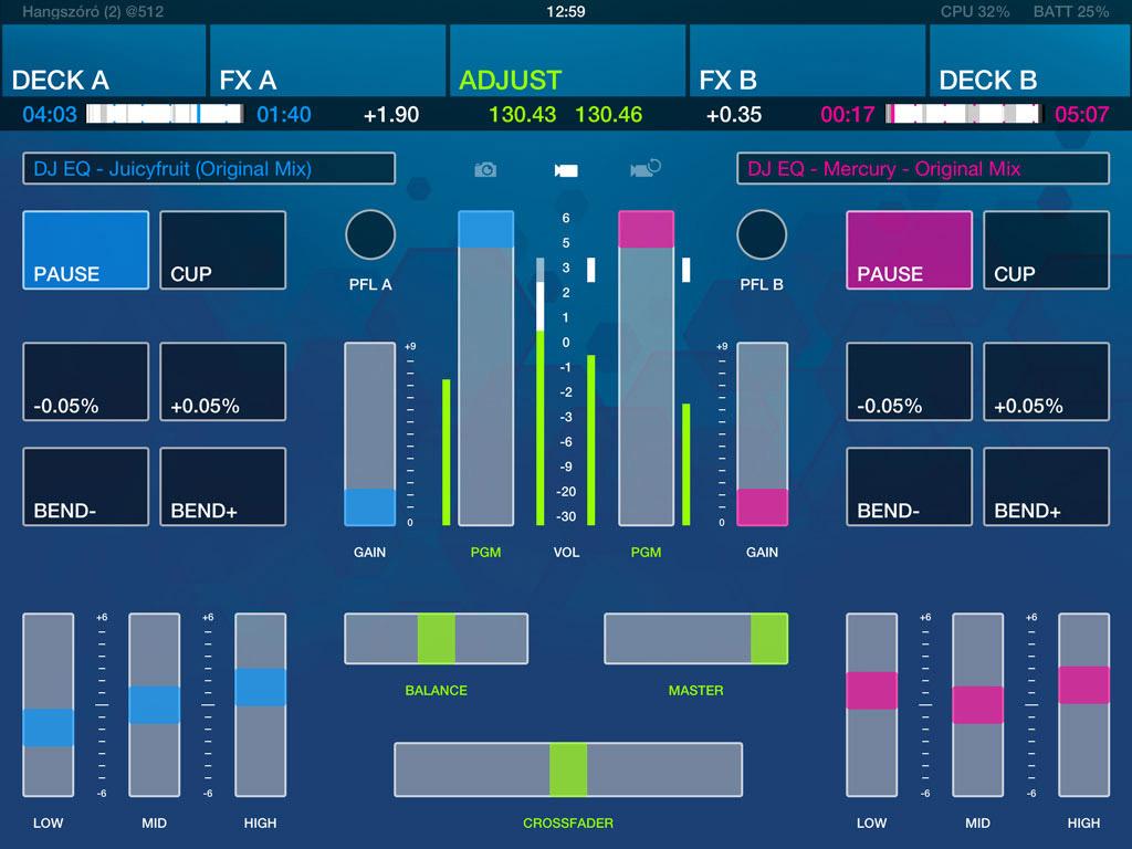 DJ Player for iOS [App Freebie]   Obama Pacman