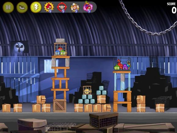 Angry Birds Rio iPad