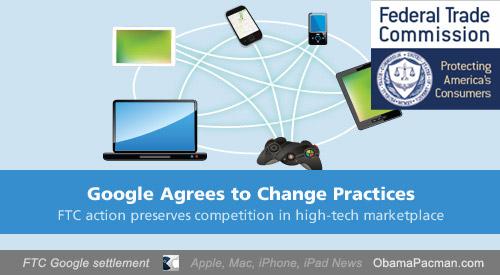 FTC Google Competition Concerns settlement