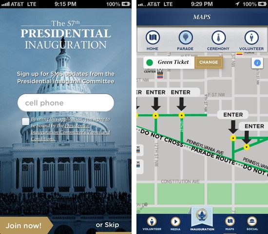 Inaugural 2013 iPhone app