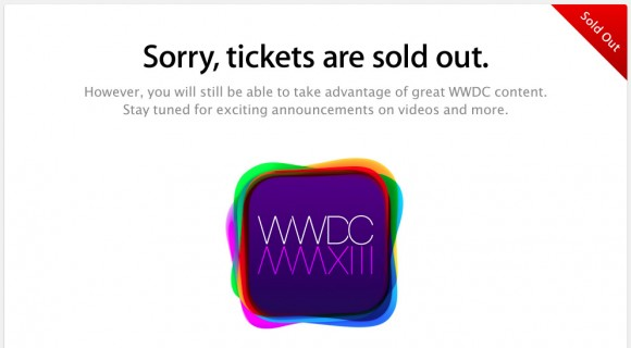Apple World Wide Developer Conference sold out
