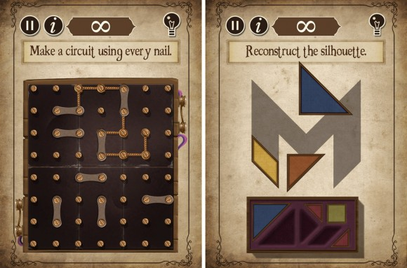 The Curse iOS puzzle game