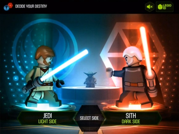 Jedi or Sith Lego Star Wars Yoda Chronicles