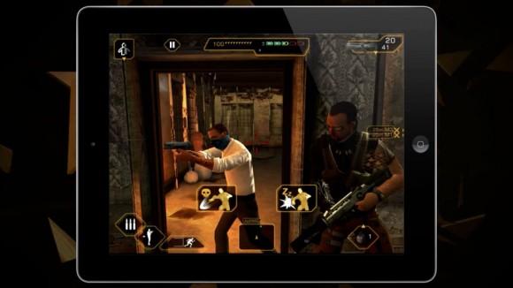 Deus Ex The Fall iPad knockout