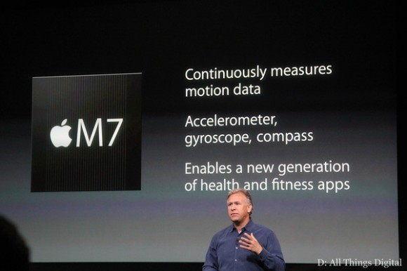 Apple M7 processor in iPhone 5S