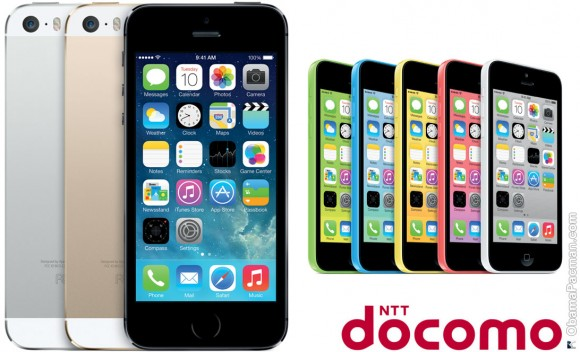 NTT DOCOMO iPhone 5s 5c