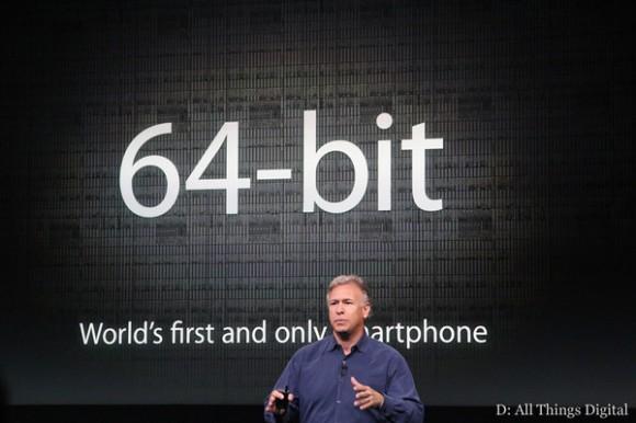 iPhone 5S 64-bit processor