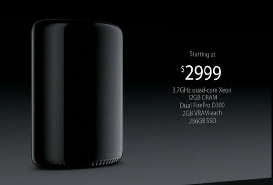 2013 Mac Pro price