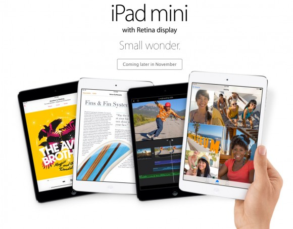 Retina Display iPad mini 2013