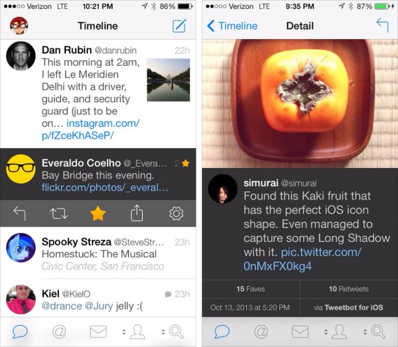 Tweetbot 3 iPhone iPad touch Twitter app