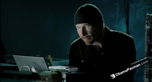 U2 guitarist The Edge uses mac