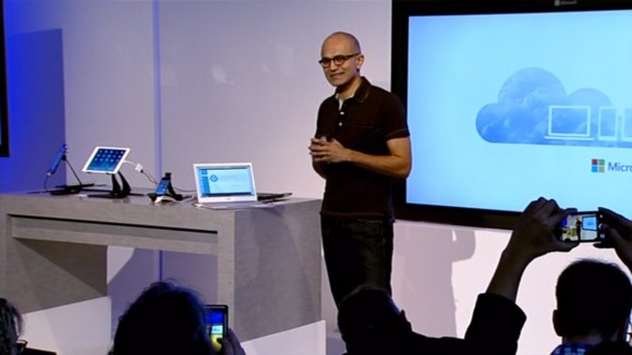 Microsoft CEO Satya Nadella Office for iPad