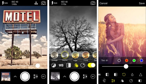 ProCam 2 sound activated iPhone camera app
