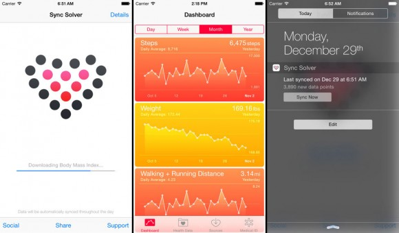 Fitbit data export to Apple Health
